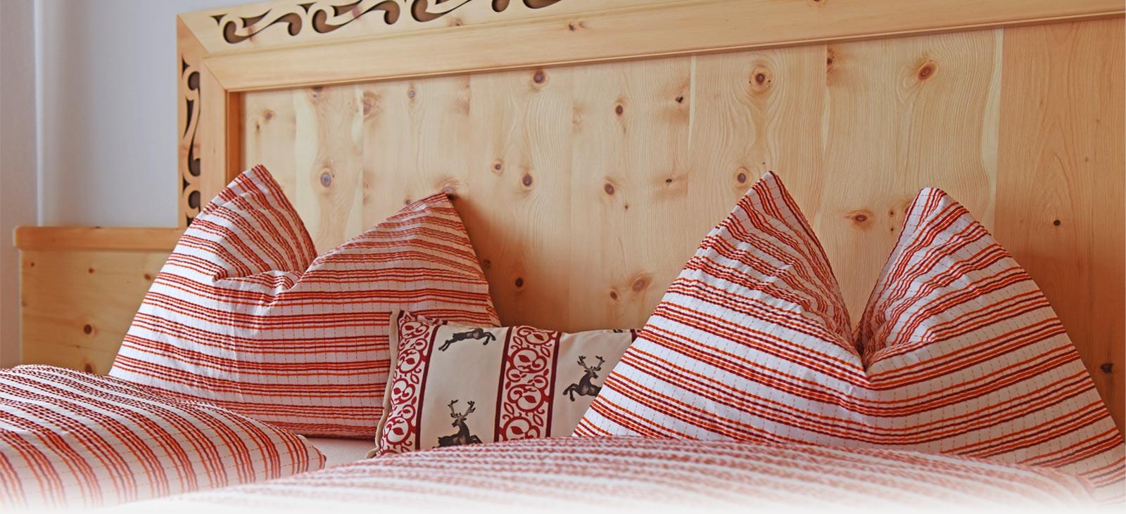 Krimmler Tauernhaus | Komfortzimmer, Standardzimmer und Lager